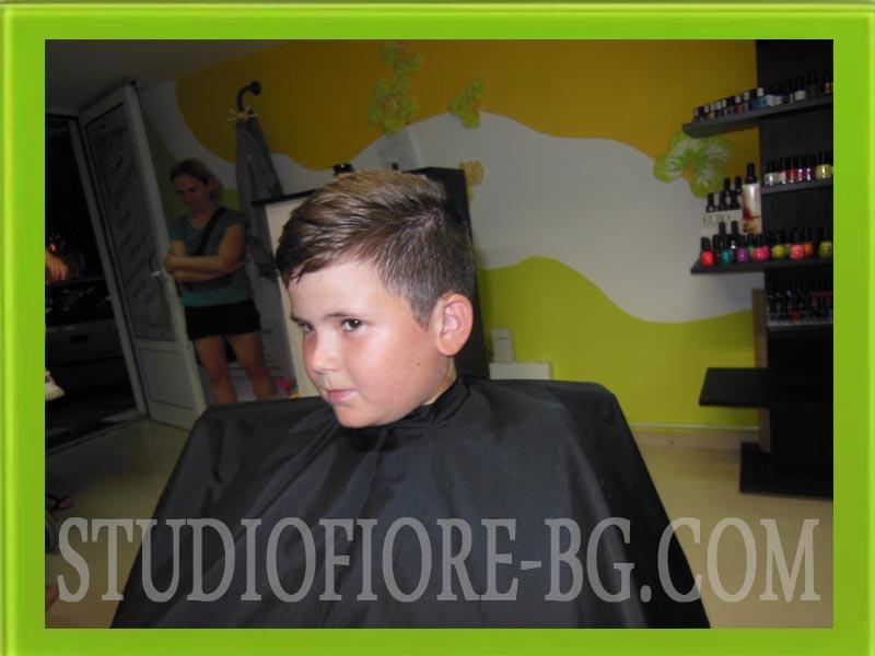 фризьор варна-детска прическа фризьор